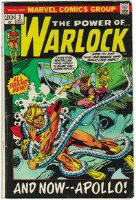 Warlock #3 VG Front Cover