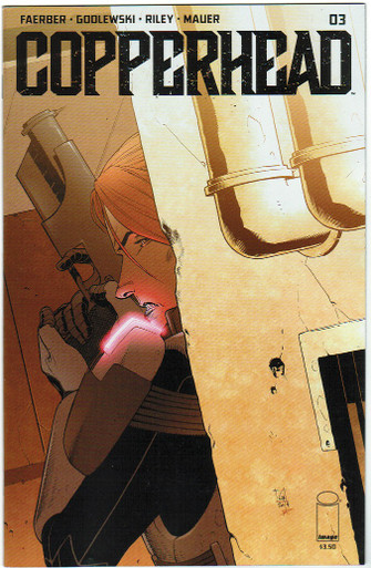 Copperhead #3 NM Front Cover