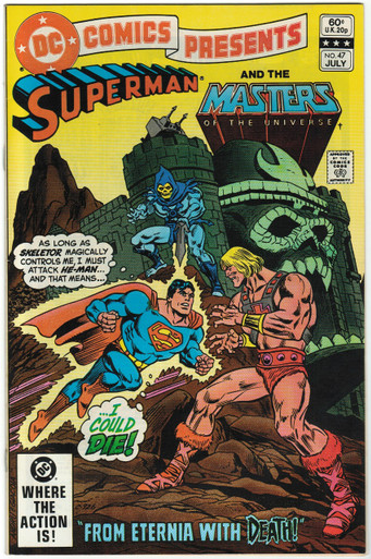 DC Comics Presents #47 VF/NM Front Cover