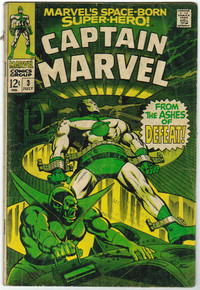 Captain Marvel #3 GD Front Cover