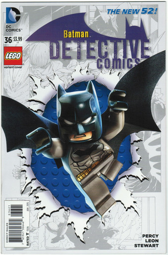 Detective Comics #36 NM Lego Variant Front Cover