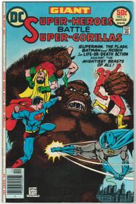 Super Heroes Battle Super Gorillas #1 VF/NM Front Cover