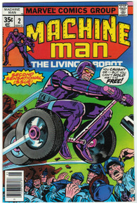 Machine Man #2 VF/NM Front Cover