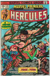 Marvel Premiere #26 FN Front Cover