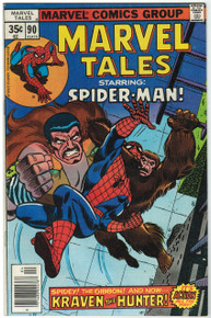 Marvel Tales #90 VF Front Cover
