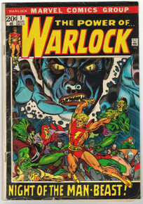 Warlock #1 GD Front Cover