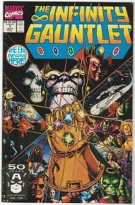Infinity Gauntlet #1 VF/NM Front Cover