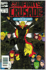Infinity Crusade #1 VF/NM Front Cover