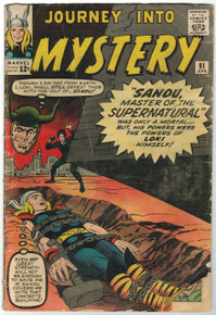 Journey Into Mystery #91 GD Front Cover