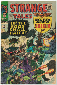 Strange Tales #145 VG Front Cover