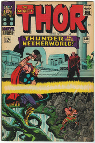 Thor #130 VF Front Cover