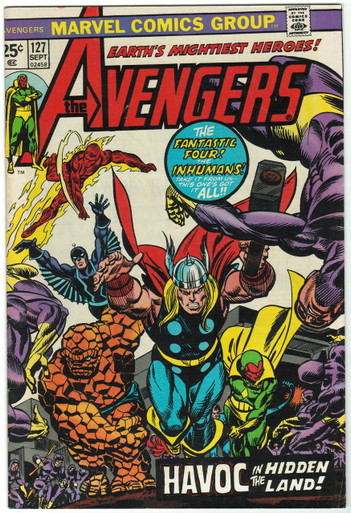 Avengers #127 FN Front Cover