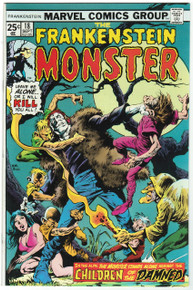 Frankenstein #18 VF/NM Front Cover