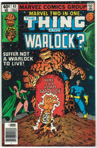 Marvel Two-In-One #63 FN Front Cover