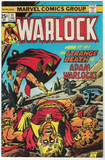 Warlock #11 FN Front Cover