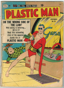 Plastic Man #26 FR Front Cover