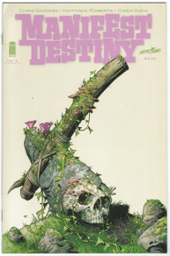 Manifest Destiny #2 2nd Print Front Cover