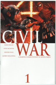 Civil War #1 VF/NM Front Cover