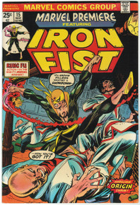 Marvel Premiere #15 VF+ Front Cover