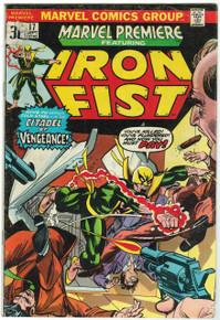 Marvel Premiere #17 VG Front Cover