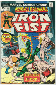 Marvel Premiere #22 FN Front Cover