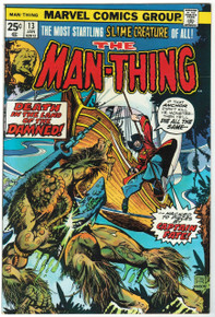 Man Thing #13 VF/NM Front Cover