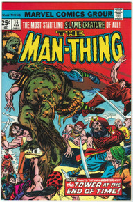 Man Thing #14 VF/NM Front Cover