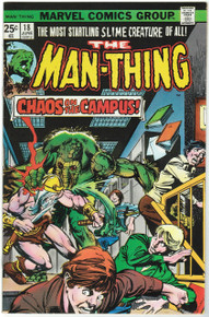Man Thing #18 VF/NM Front Cover