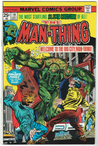 Man Thing #19 VF/NM Front Cover