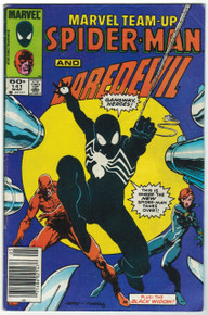 Marvel Team Up #141 VG Front Cover