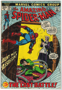 Amazing Spider Man #115 GD Front Cover