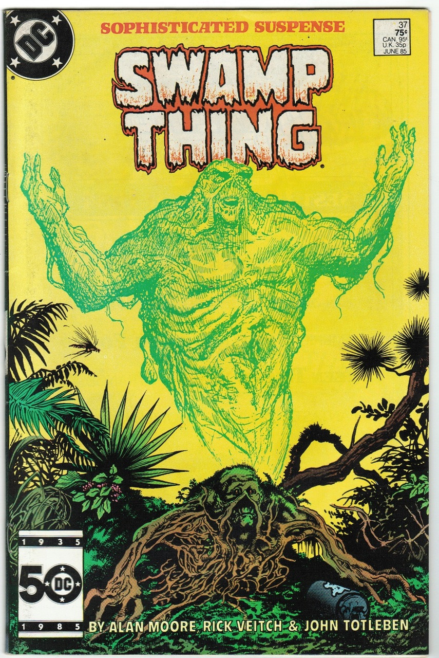 Image result for Saga of the Swamp Thing #37