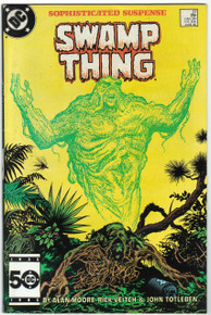 Swamp Thing #37 VF Front Cover