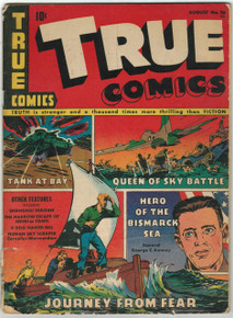 True Comics #26 GD Front Cover