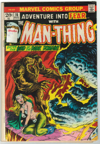 Adventure Into Fear with Man-Thing #15 VG