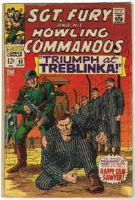 Sgt Fury #52 GD Front Cover