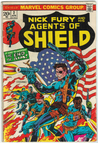 SHIELD #2 GD Front Cover