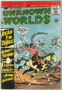 Unknown Worlds #42 GD Front Cover