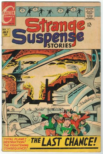 Strange Suspense Stories Vol. 3 #2 GD Front Cover