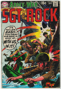 Our Army at War #210 GD Front Cover