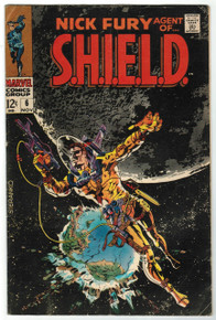 Nick Fury, Agent of S.H.I.E.L.D. #6 VG Front Cover