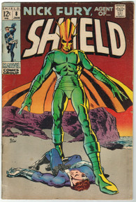 Nick Fury, Agent of S.H.I.E.L.D. #8 VG Front Cover