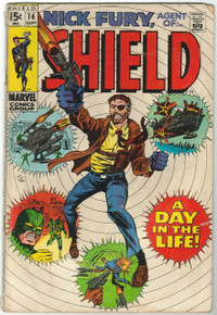 Nick Fury, Agent of S.H.I.E.L.D. #14 GD Front Cover
