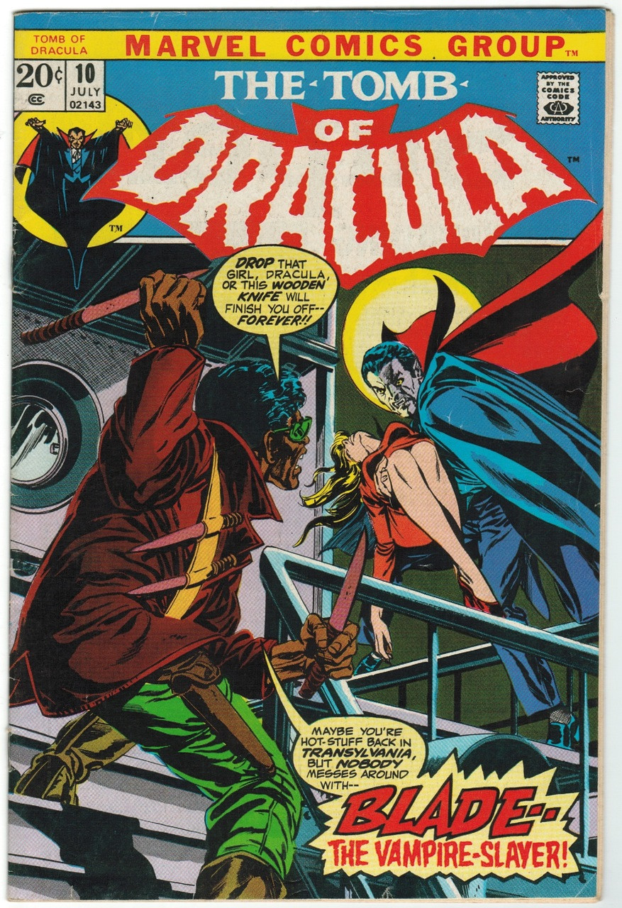 Image result for Tomb of Dracula #10