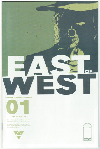East of West #1 NM 1st Print Front Cover