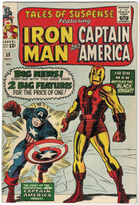 Tales of Suspense #59 VF Front Cover