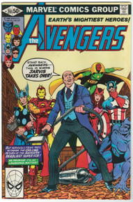 Avengers #201 VF/NM Front Cover