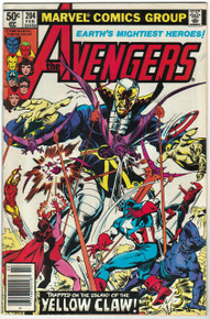 Avengers #204 VF/NM Front Cover