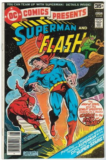 DC Comics Presents #1 FN Front Cover