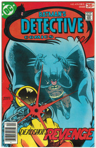 Detective Comics #474 FN/VF Front Cover